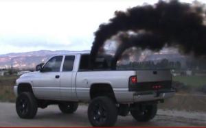 smokestack truck